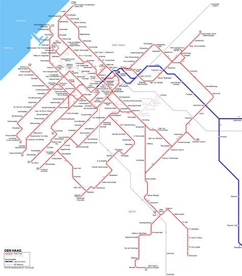 netherlands map den haag urbanrail net gt europe gt netherlands gt den haag tram