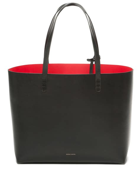 Tote Bag Mansur Gavriel by Mansur Gavriel Large Tote In Black Lyst