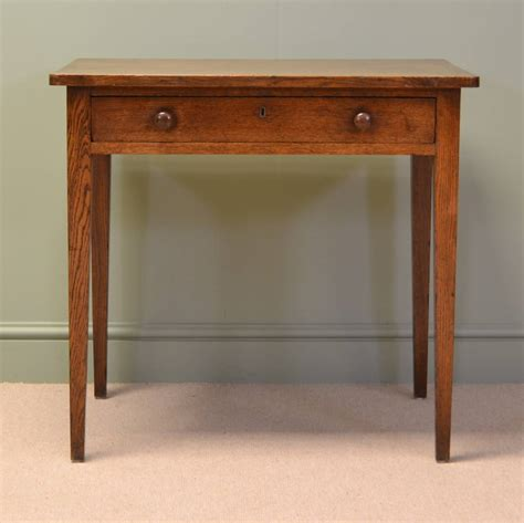 Oak Side Table Regency Country Oak Antique Side Table Antiques World