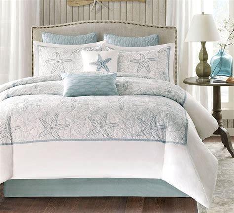 beach house bedding harbor bay 4pc king comforter set ocean beach house seashell sea green maya ebay