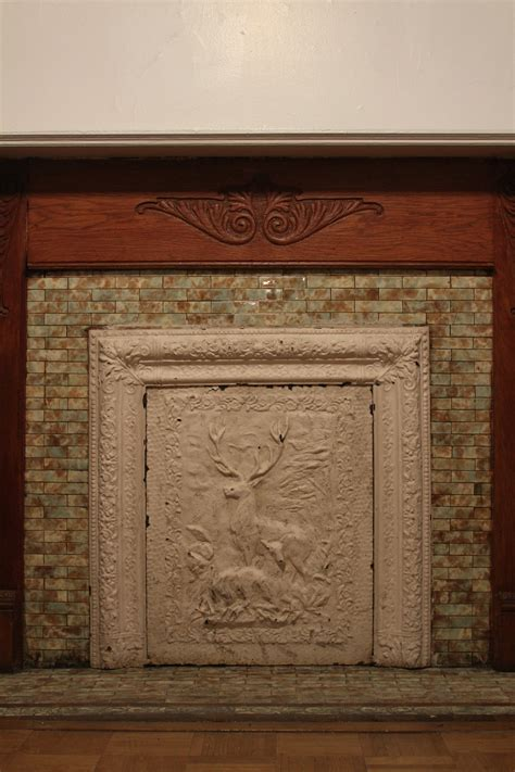 fireplace covering fireplace covers a pink brownstone in brooklyn