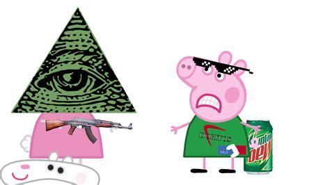 peppa pig illuminati image peppa vs illuminati png peppa pig fanon wiki