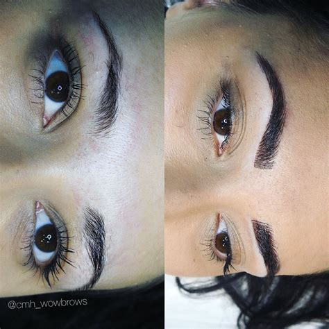 tattoo eyeliner melbourne hair stroke feather touch tattooed eyebrows cosmetic