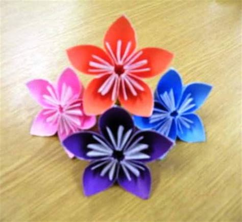 3d Easy Origami - origami flower easy 3d make origami easy