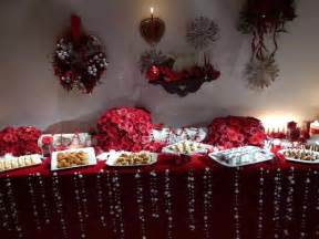 Holiday Buffet Table Decorating Ideas Christmas Buffet Table Decorating Photograph Holiday Homec