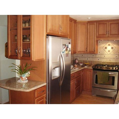 beech kitchen cabinets frosted beech honey cabinets cinnamon kitchen cabinets