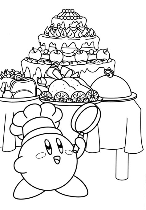 printable coloring pages kirby free coloring pages of kirby and meta