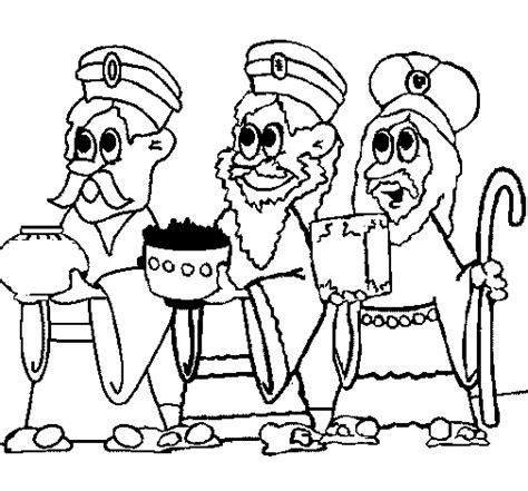 imagenes de los reyes magos en ingles dibujo de los reyes magos para colorear dibujos net