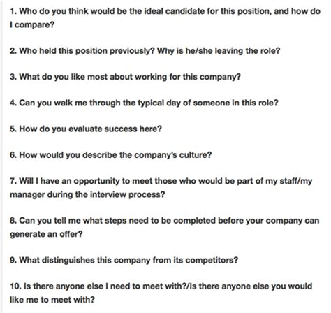 Questions To Ask At An Mba Seminar by 10 Smart Questions To Ask The Recruiter Mba Cat Gmat B