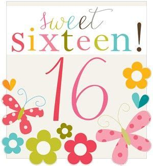 printable birthday cards sweet 16 card invitation design ideas collection images sweet 16