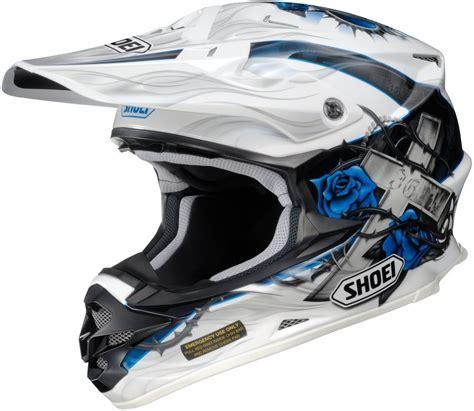 shoei motocross helmet 654 99 shoei vfx w grant helmet 121197
