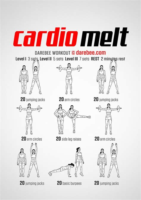 Cardio Exercises With Pictures