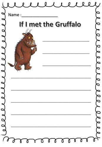 gruffalo writing paper the gruffalo by hitzz teaching resources tes