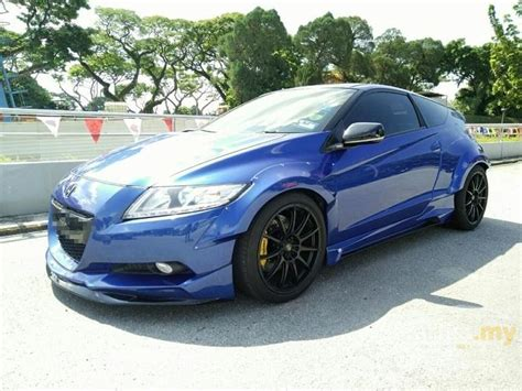 honda cr z 2012 hybrid i vtec 1 5 in johor manual hatchback blue for rm 95 000 2532720