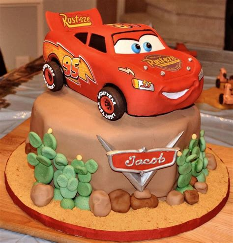 Cars Themed Birthday Cake Ideas cars cakes decoration ideas birthday cakes