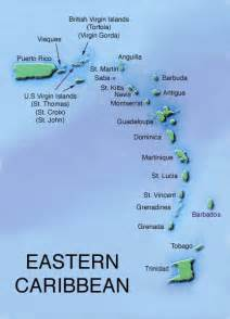 map of eastern us and caribbean eastern caribbean map my