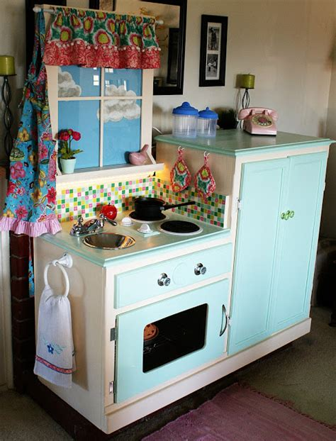 play kitchen from old furniture easy peasy pie play kitchen