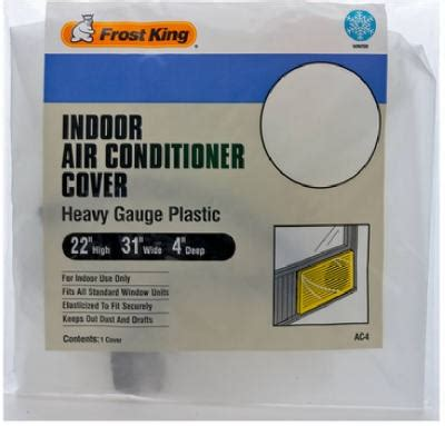 Acrylic Cover Ac thermwell king ac4h 3 mil indoor air conditioner