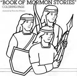 book of mormon coloring pages book of mormon lds lesson ideas