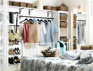 Tiny Bedroom Storage Solutions Solutions For A Closet Less Bedroom Underwritings Blog