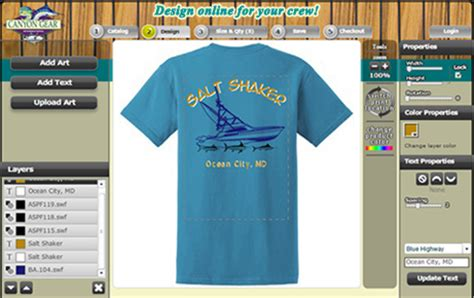 boat outline t shirts custom t shirts fishing and boating design your own