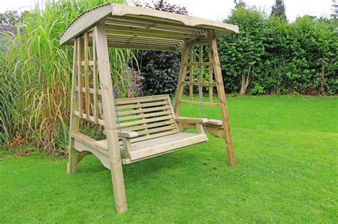 garden swing garden swing wooden garden furniture wooden swing