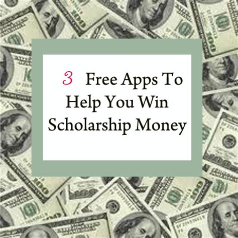 Want To Win Money - 3 free apps to help you win scholarship money college prepped