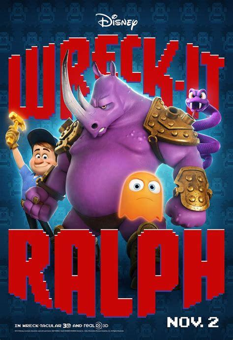 character posters  disneys wreck  ralph