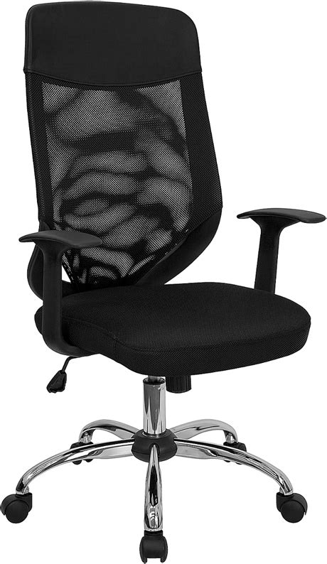High Back Mesh Office Chair by High Back Black Mesh Executive Swivel Office Chair With