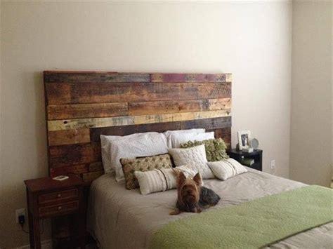 Wood Pallet Headboard Diy Wood Pallet Headboard Pallet Furniture Diy
