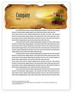 life on the farm letterhead template layout for microsoft