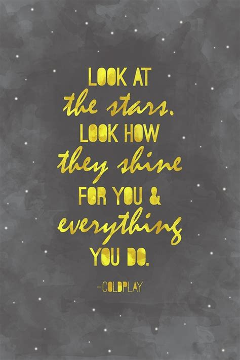 coldplay yellow lyrics poster design by caitlin mcnabb coldplay quot yellow quot music
