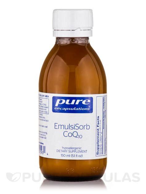 emulsisorb coq10 liquid 5 fl oz 150 ml