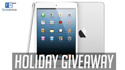 Ipad Contest Giveaway - fonearena apple ipad mini giveaway