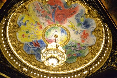 Plafond De L Opéra Chagall by Coupoles Int 233 Rieur L Autre Carnet De Jimidi