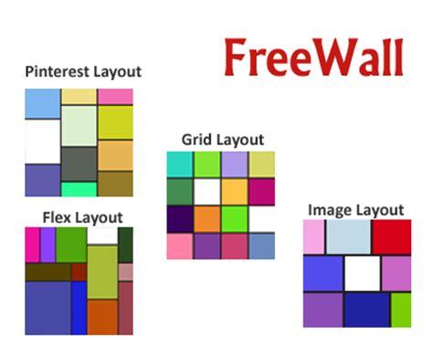 dynamic grid layout in javascript dynamic layout jquery plugins