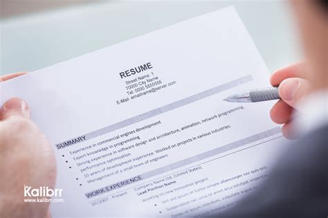 Search Work History The Sure Formula To Make Quot Work History Quot Shine In Your Cv Kalibrr Career