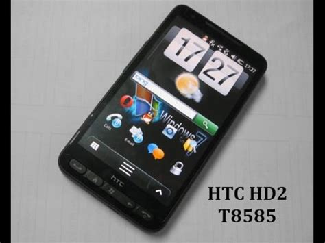 Hp Htc Hd2 T8585 htc hd2 t8585 pr 233 sentation mythique r 233 f 233 rence windows