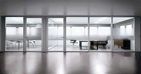 office space with glass walls home decor amp interior