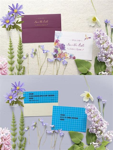 3 5x5 Card Template Microsoft Word by 3 5x5 Card Square Envelope Mockup Envelopes Wedding