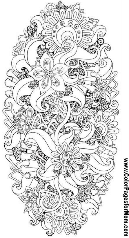flower doodle coloring pages flower abstract doodle zentangle zendoodle paisley