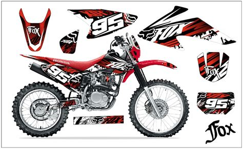 Sticker Tuning Para Motos by Calcoman 237 As Fox Para Motos Imagui