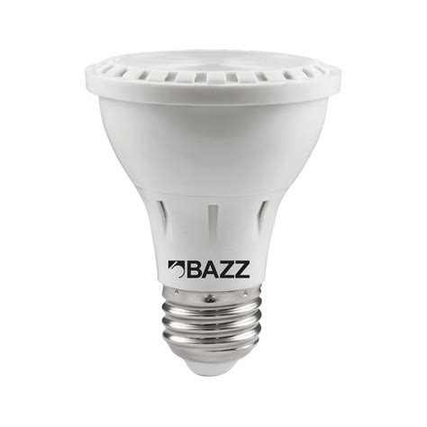 bazz 50w equivalent soft white par20 led flood light bulb