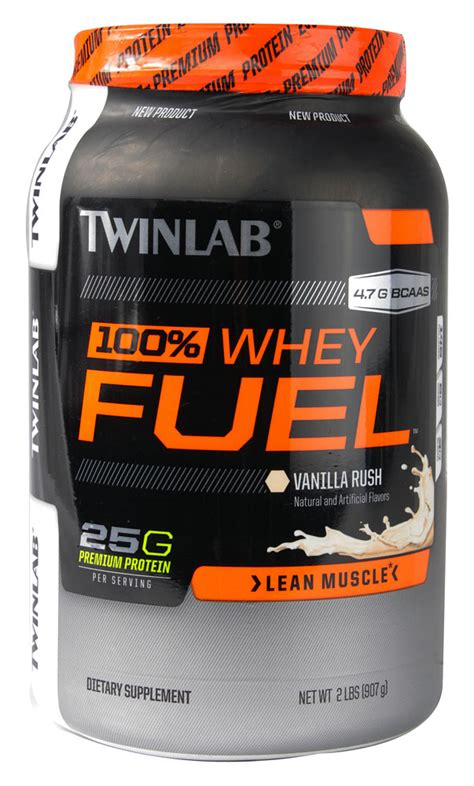 100 Whey Protein Fuel 100 whey protein fuel vanilla slam 2 lb 23 27ea from twinlab
