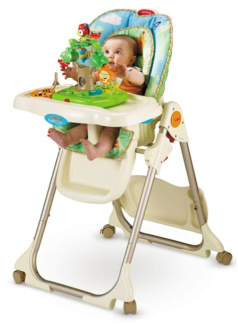 Fisher Price Seat Recline by Fisher Price Rainforest Healthy Care High Chair Childrens Highchairs Baby