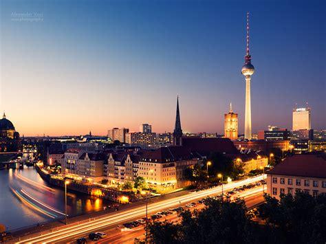 Berlin – Skyline at Night | Alexander Voss | Fotografie ...