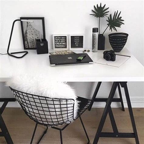 black and white desks best 25 room inspiration ideas on room