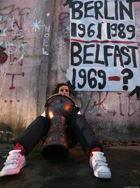 Belfast Wall Murals why northern ireland s peace walls show no signs of