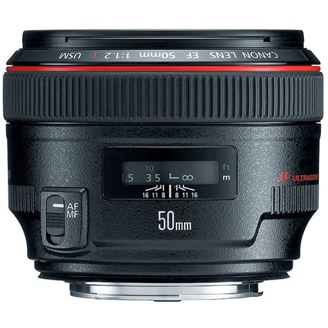 Canon Ef 50mm F 1 2 L Usm canon ef 50mm f 1 2l usm lens 1257b002 b h photo