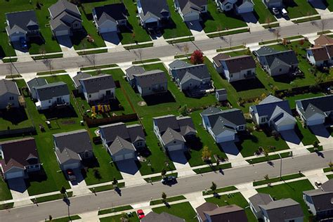 what is a housing tract the fictional suburbs